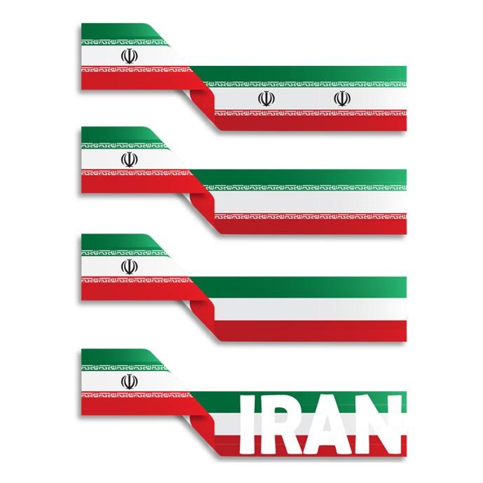 دانلود وکتور پرچم ایران در چهار مدل مختلف به صورت لایه باز