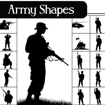 army-shapes