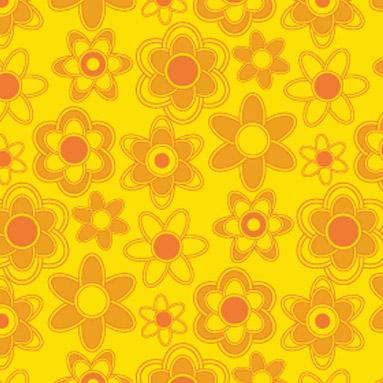 orange-floral-pattern1