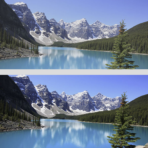 افزایش کیفیت و روشنایی یک عکس