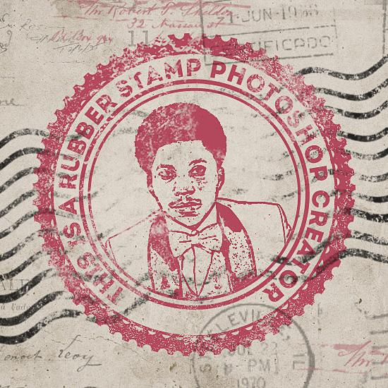 طراحی مهر یا تمبر قدیمی در فتوشاپ