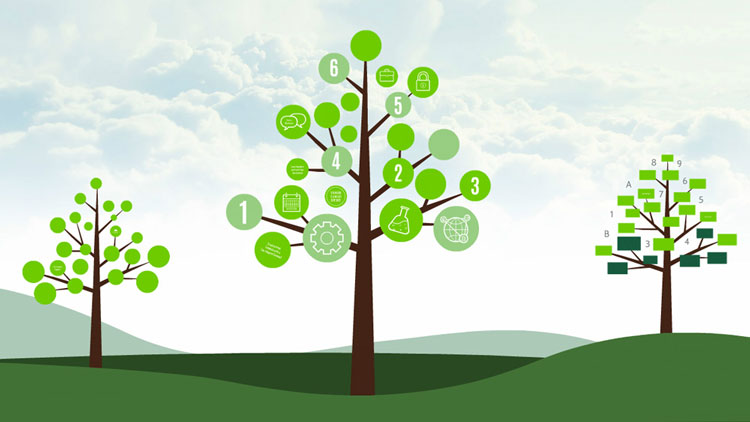 creative-tree-diagram-nature-infographic-green-leafs-mindmap-prezi-presentation-template