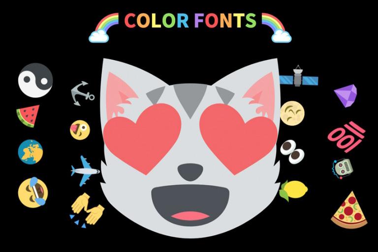 color font چیست و چه کاربردی دارد؟