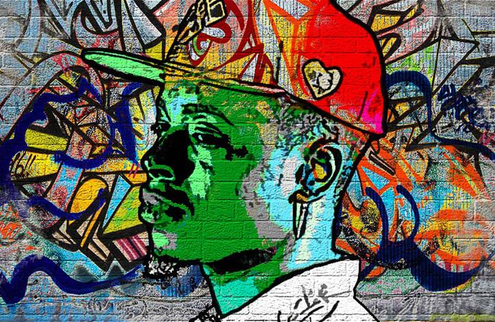 افکت گرافیتی حرفه ای در فتوشاپ