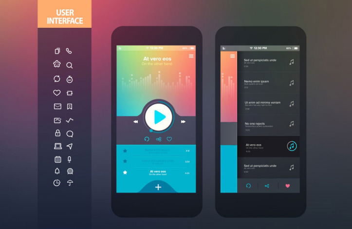 بهترین طرح های رابط کاربری UI