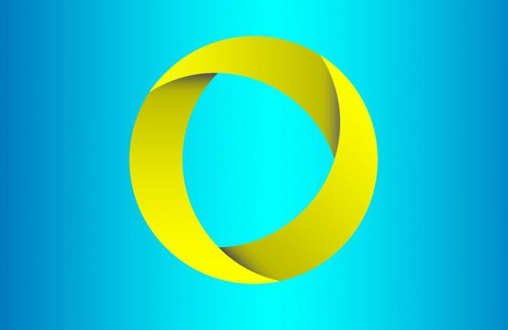 طراحی لوگو دایره ای