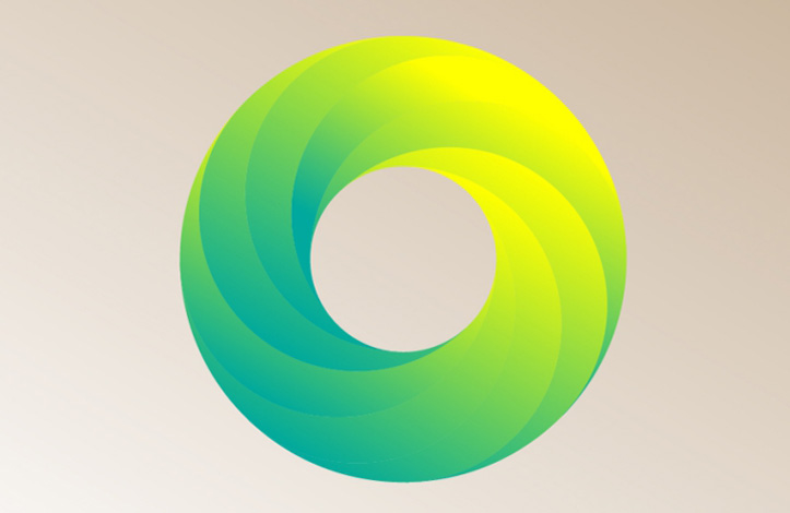 طراحی لوگو دایره