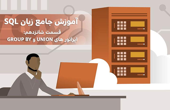 SQL-Language-union-groupby-operators