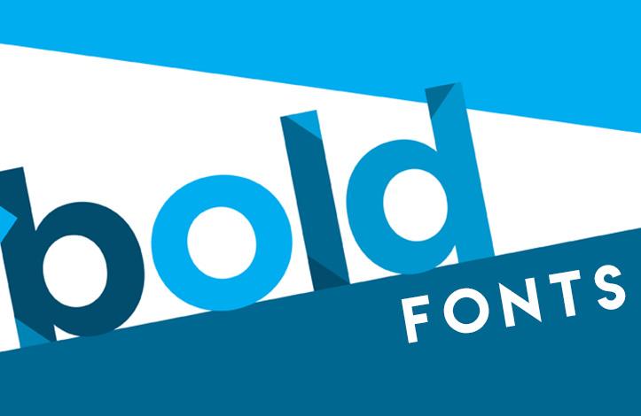 استفاده از فونت های Bold