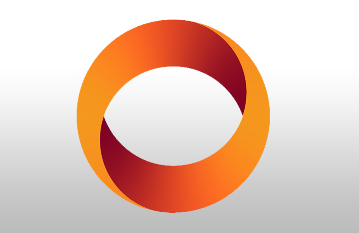 طراحی لوگوی دایره ای
