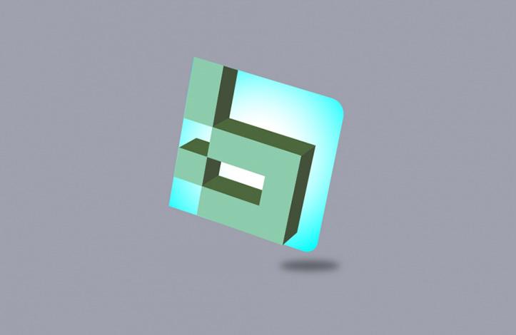 طراحی لوگوی سه بعدی در ایلوستریتور