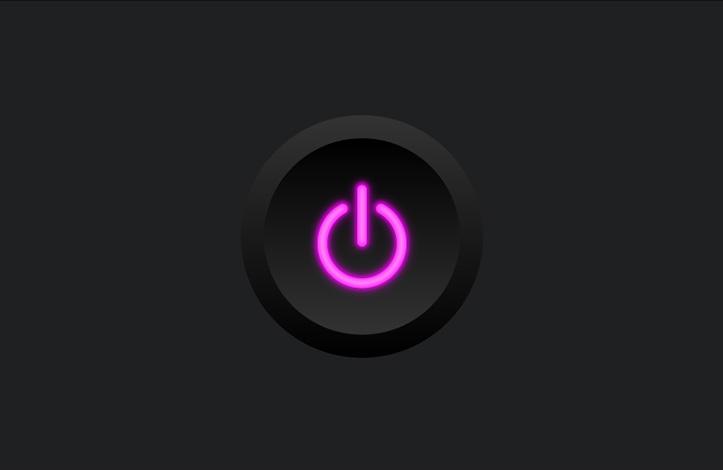 طراحی وکتور دکمه power
