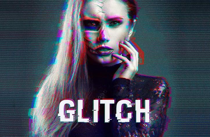 افکت glitch در فتوشاپ