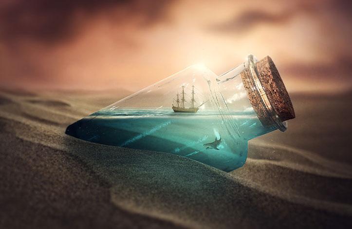 دریا درون بطری