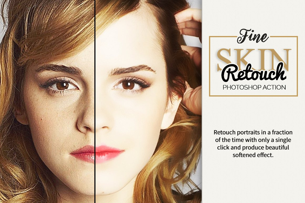 skin retouch actions