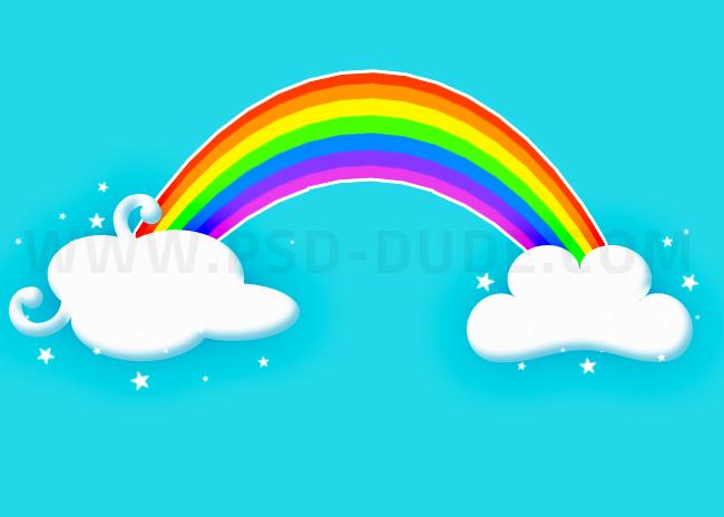 cartoon-rainbow-in-photoshop