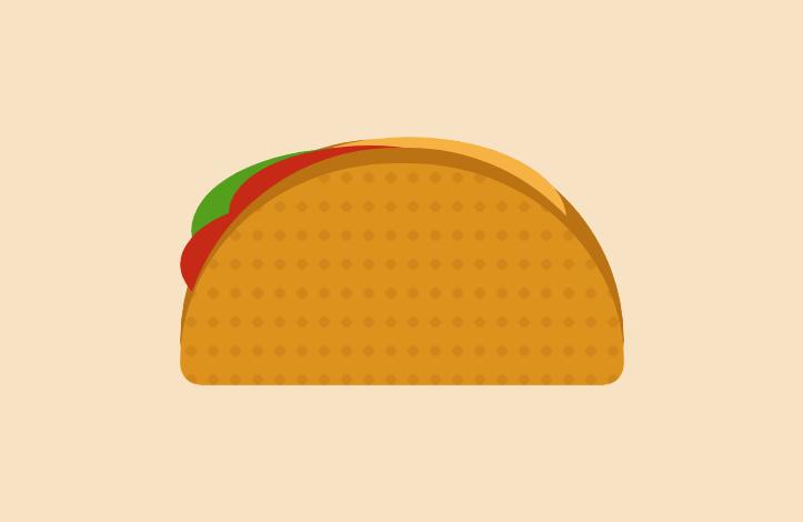 CSS با طعم تاکو؛ آموزش ساخت ساندویچ تاکو با HTML و CSS