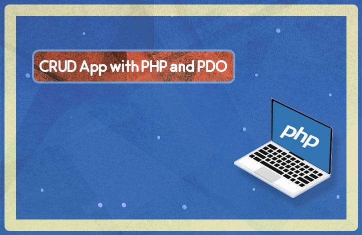 ساخت یک برنامه CRUD با PHP و رابط PDO